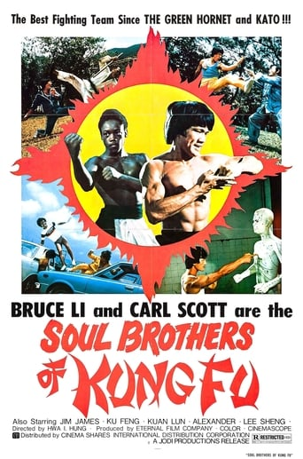Poster of Soul Brothers of Kung Fu