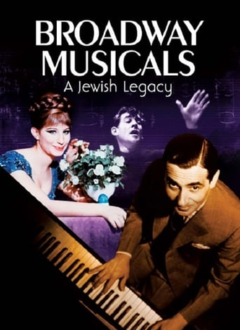 Poster of Broadway Musicals: A Jewish Legacy
