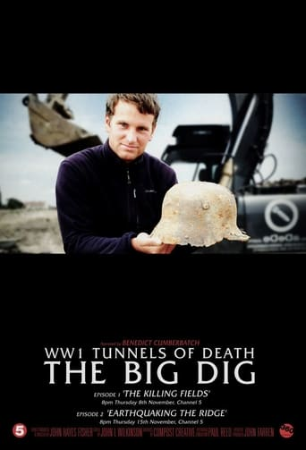 Poster of WWI's Tunnels of Death The Big Dig