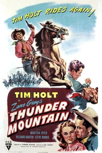 Poster of Thunder Mountain