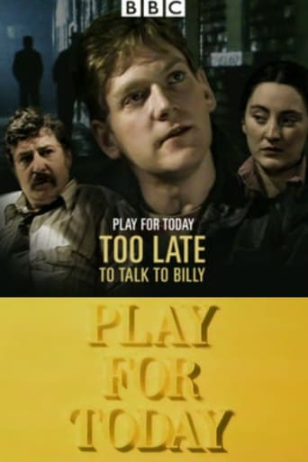 Poster of Too Late to Talk to Billy