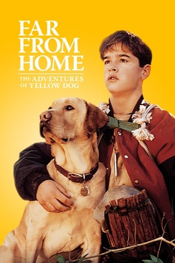 Poster of Far from Home: The Adventures of Yellow Dog