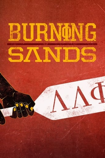 Poster of Burning Sands