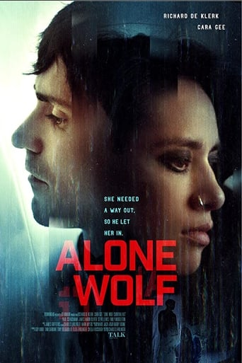Alone Wolf Poster