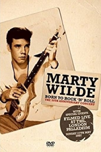 Poster of Marty Wilde - Born To Rock 'n' Roll