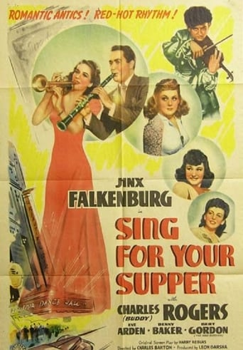 Poster of Sing for Your Supper