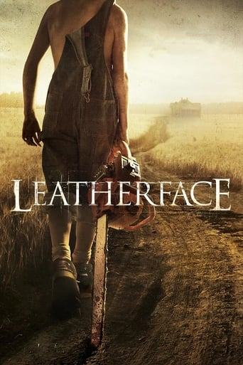 Official movie poster for Leatherface (2017)