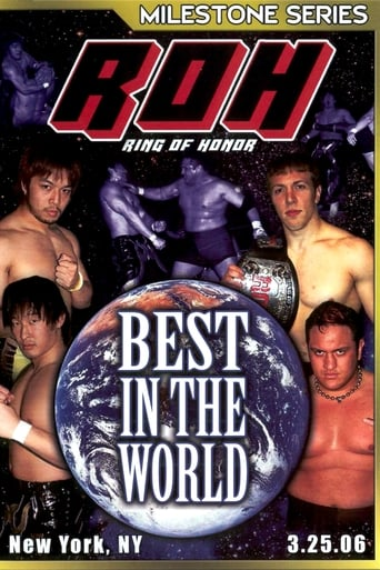 Poster of ROH Best In The World 2006