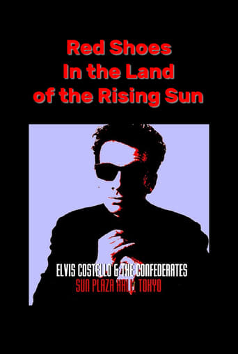 Poster of Red Shoes In the Land of the Midnight Sun: Elvis Costello & The Confederates Live in Tokyo