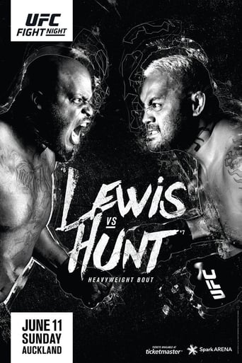 Poster of UFC Fight Night 110: Lewis vs. Hunt