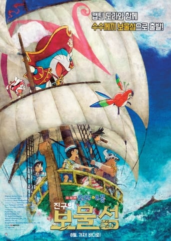 The Doraemon the Movie: Nobita's Treasure Island (2018) movie poster image