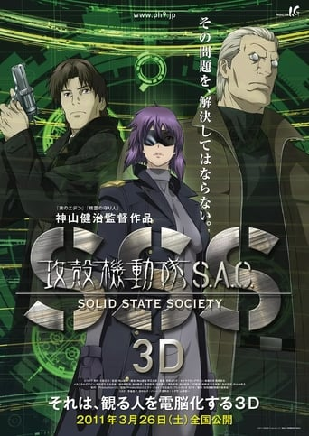 Poster of Ghost in The Shell: Stand Alone Complex-Solid State Society 3D