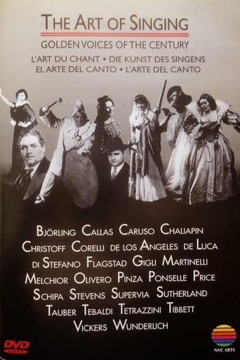 The Art of Singing: Golden Voices of the Century Movie Poster