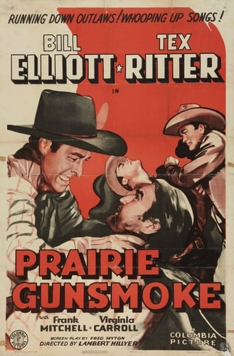 Poster of Prairie Gunsmoke