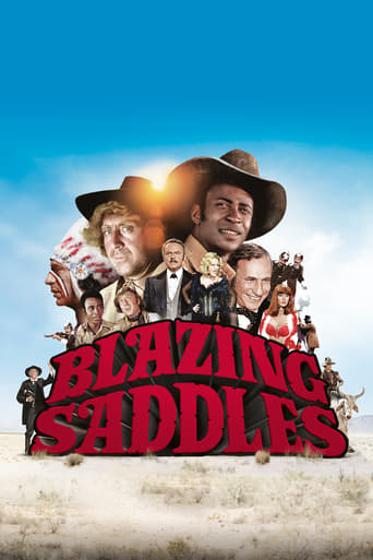 Blazing Saddles (1974) - poster