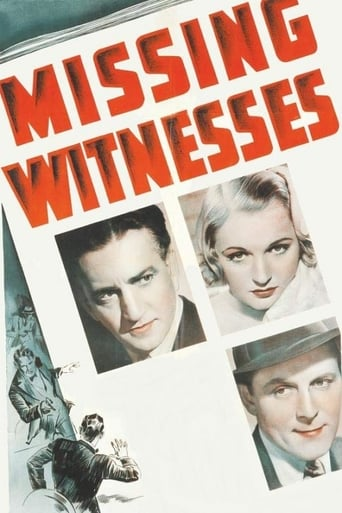 Poster of Missing Witnesses