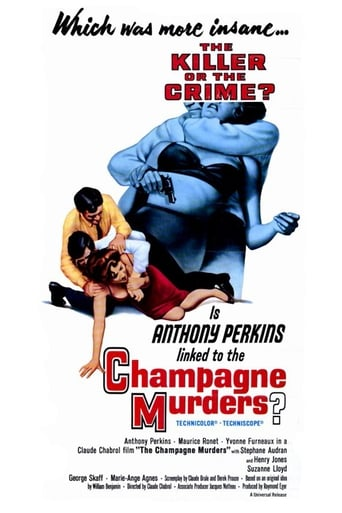 Poster of The Champagne Murders
