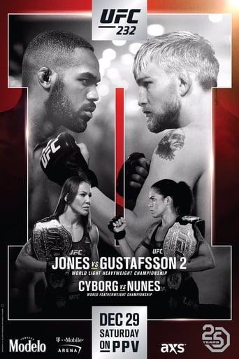 UFC 232: Jones vs. Gustafsson 2 Movie Poster