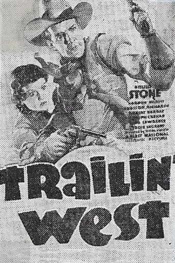 Trailin' West Movie Poster