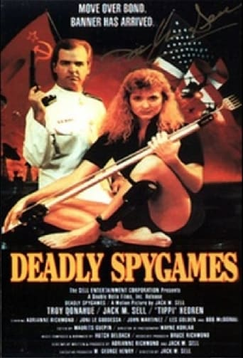 Poster of Deadly Spygames