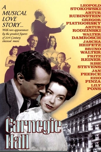 Poster of Carnegie Hall