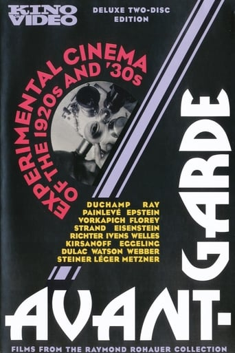 Avant-Garde: Experimental cinema  of the 1920s and '30s Movie Poster