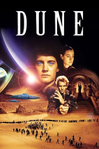 Official movie poster for Dune (1984)