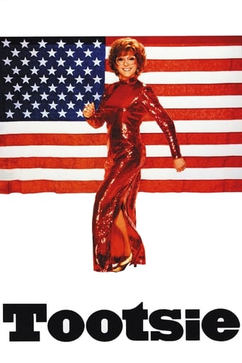 Official movie poster for Tootsie (1982)