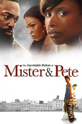 Poster of The Inevitable Defeat of Mister & Pete