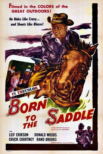 Born to the Saddle Movie Poster