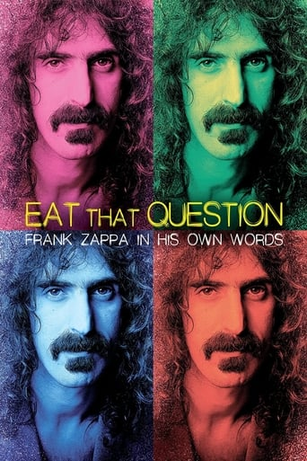 Watch Eat That Question: Frank Zappa in His Own Words Free Movie Online