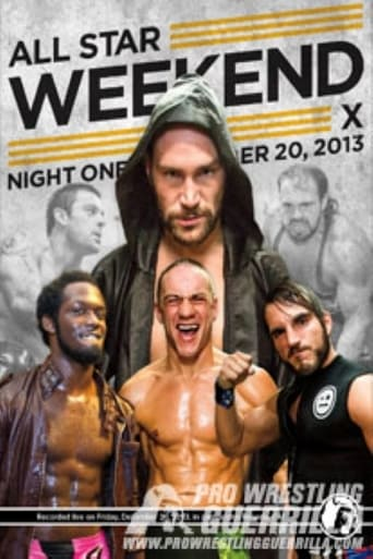 Poster of PWG: All Star Weekend X - Night One