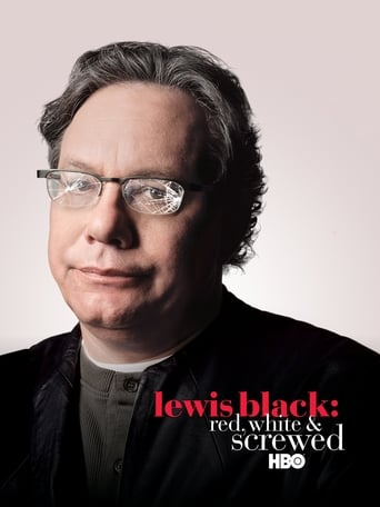 Poster of Lewis Black: Red, White & Screwed