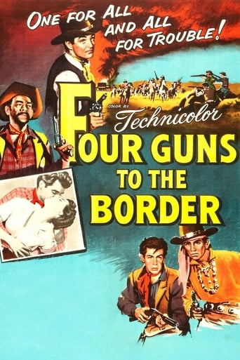 Poster of Four Guns to the Border