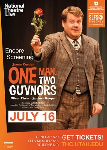 Poster of National Theatre Live: One Man, Two Guvnors