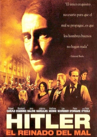 Poster of Hitler. El reinado del mal
