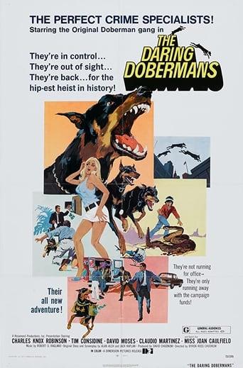 Poster of The Daring Dobermans
