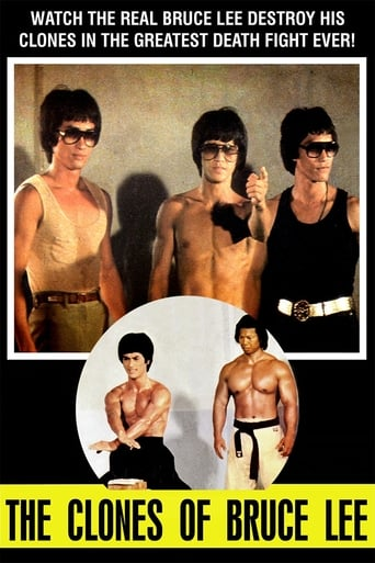 Poster of The Clones of Bruce Lee