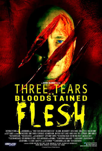 Poster of Three Tears on Bloodstained Flesh