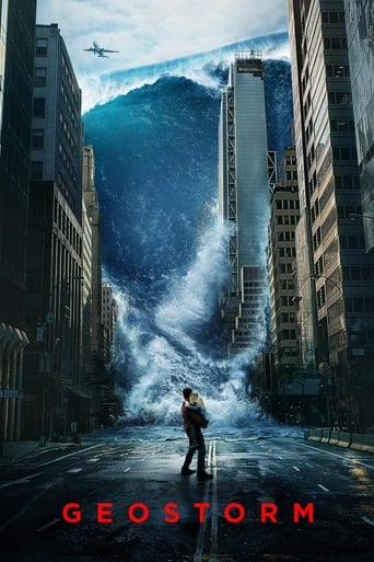 Official movie poster for Geostorm (2017)