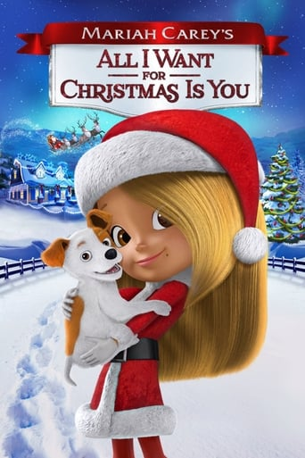 Poster of Mariah Carey's All I Want for Christmas Is You