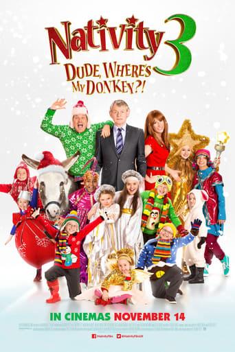 Poster of Nativity 3: Dude, Where's My Donkey?!
