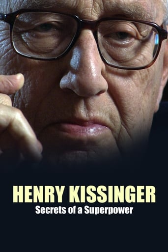 Poster of Henry Kissinger: Secrets of a Superpower