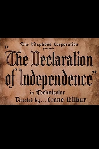 Poster of The Declaration of Independence