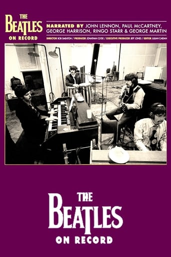 Poster of The Beatles on Record