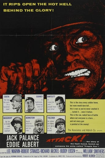 Attack (1956) - poster