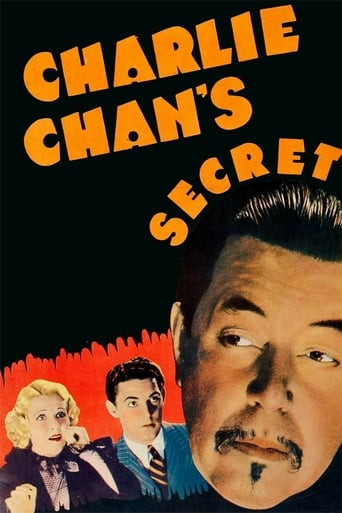 Poster of Charlie Chan's Secret