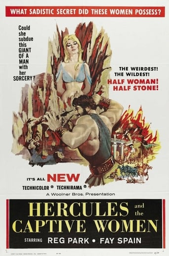 Poster of Hercules and the Captive Women