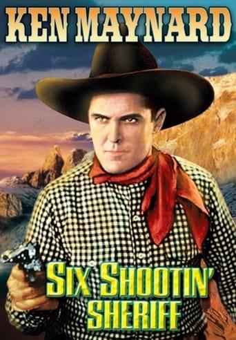 Six Shootin' Sheriff Movie Poster
