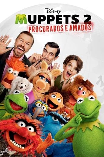 Muppets 2: Procurados e Amados - Poster